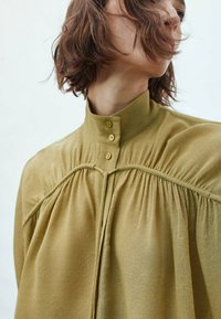 Massimo Dutti - Blouse - mustard yellow - 1