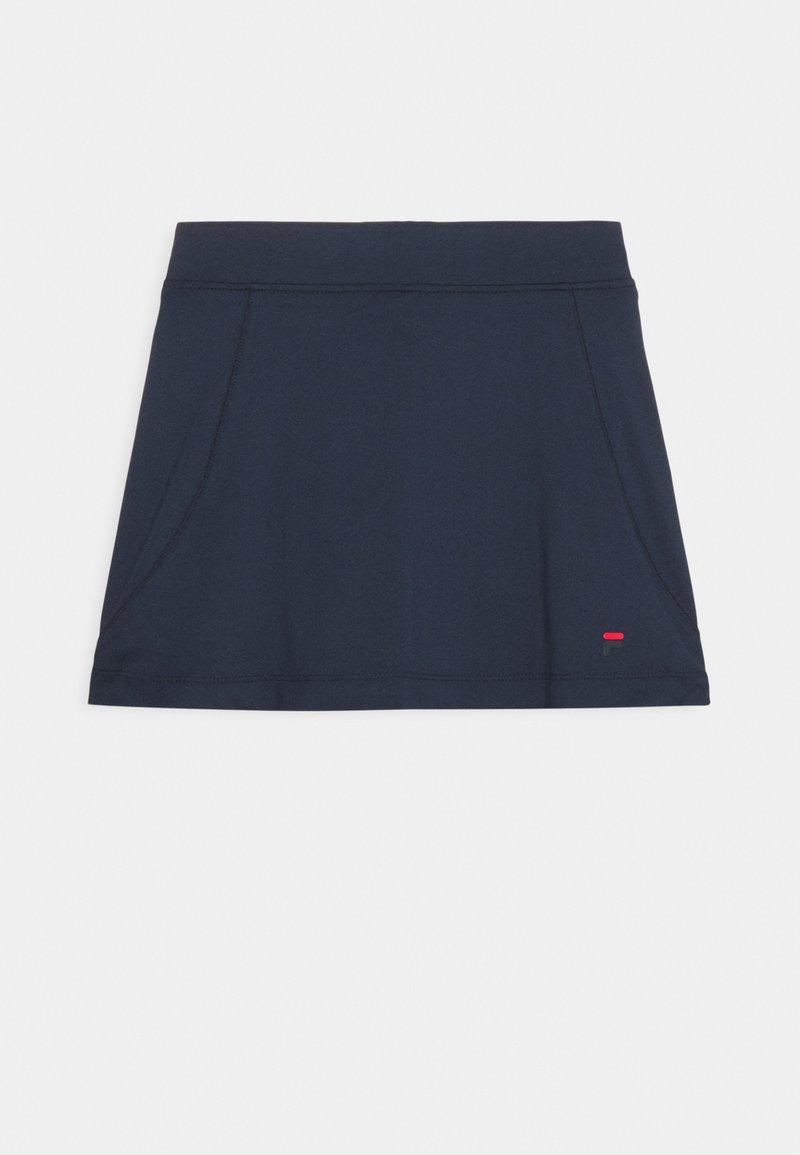 Fila - SKORT SONIA GIRLS - Sportovní sukně - peacoat blue