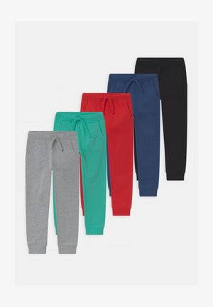 5 PACK  - Tracksuit bottoms - turquoise/grey/dark blue