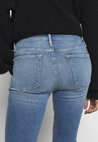 Frame Denim - LE HIGH SKINNY - Jeans Skinny Fit - blue denim - 3