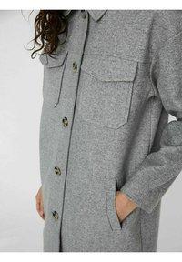 Vero Moda - Manteau classique - light grey melange - 3