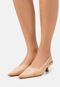 MM6 Maison Margiela - COURT SHOE - Classic heels - tan - 0