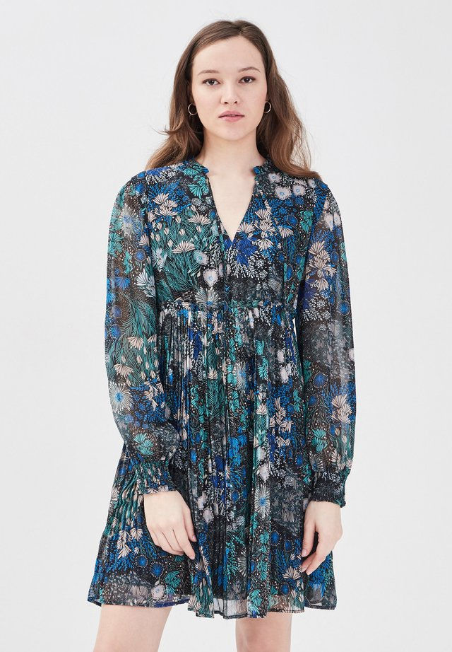 Korte jurk - multico