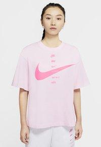 pink foam/pink glow