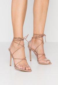 ALDO - AMENABAR - Sandaler med høye hæler - bone - 0