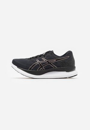 GLIDERIDE - Neutral running shoes - black/rose gold