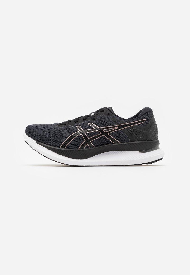 ASICS - GLIDERIDE - Zapatillas de running neutras - black/rose gold