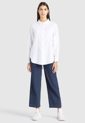SAHAR - Button-down blouse - white