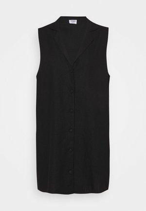 VICKY VEST DRESS - Blousejurk - black