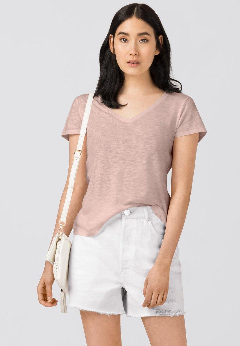 HALLHUBER - Basic T-shirt - zartrosa