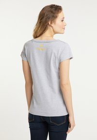 Schmuddelwedda - Print T-shirt - mottled light grey - 2