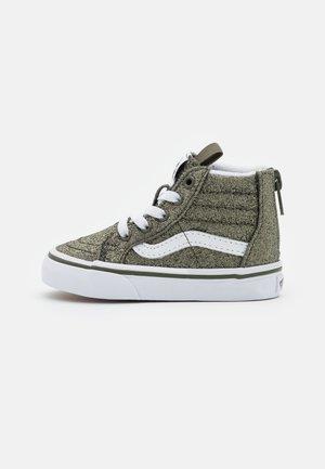TD SK8 ZIP - Sneakers hoog - grape leaf/true white