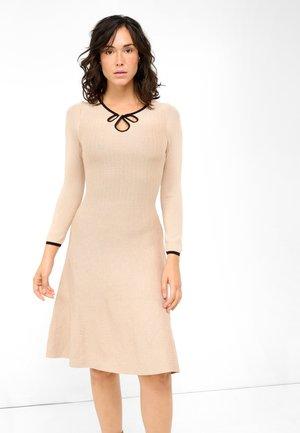 Jumper dress - desert beige