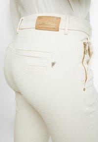 Mos Mosh - BLAKE RICH - Jeans slim fit - ecru - 5