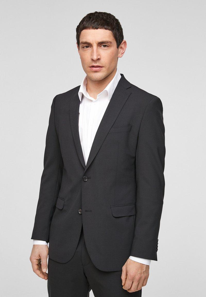 s.Oliver BLACK LABEL - SLIM FIT - Veste de costume - black