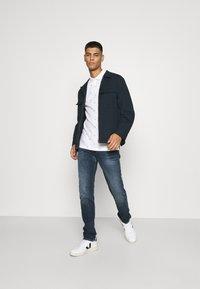 Replay - ANBASS - Straight leg jeans - dark blue denim - 1