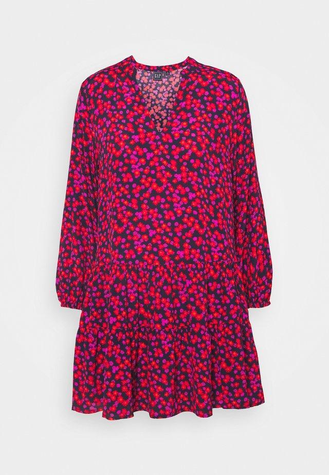 TIERED MINI - Day dress - pink