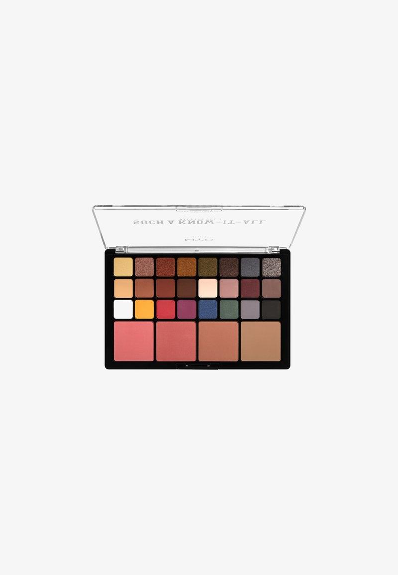 Nyx Professional Makeup - SUCH A KNOW IT ALL PALETTE - Paleta cieni - vol. 1