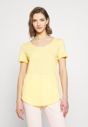VMHANNELUA BOX  - Camiseta básica - banana cream