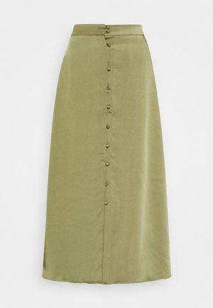 JETTA SKIRT - Áčková sukně - gothic olive