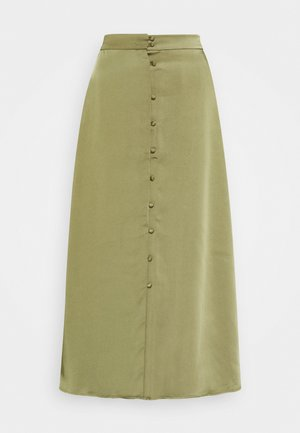 JETTA SKIRT - A-line skirt - gothic olive