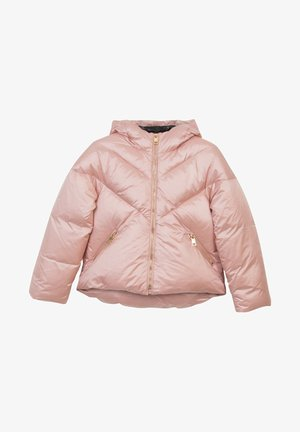 Down jacket - light pink