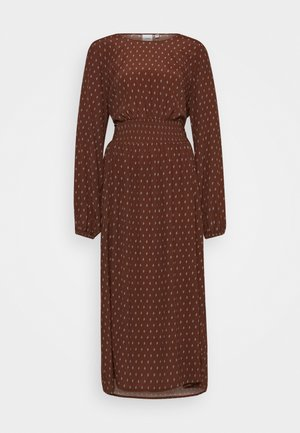 CARINA - Maxi dress - dark brown