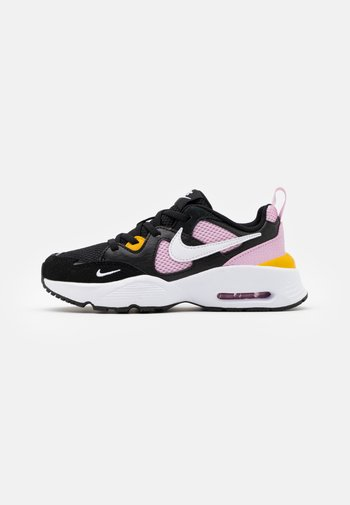 AIR MAX FUSION UNISEX - Sneakersy niskie - black/white/light arctic pink/dark sulfur