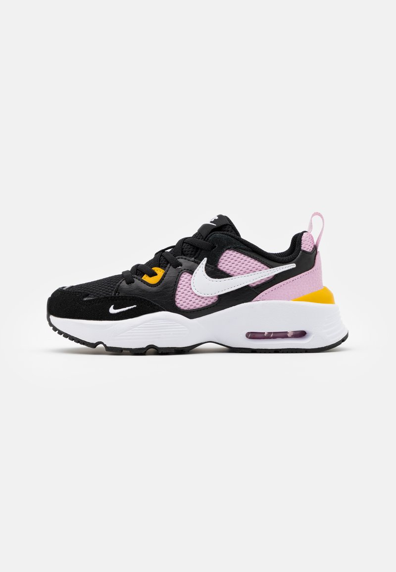 Nike Sportswear - AIR MAX FUSION UNISEX - Tenisky - black/white/light arctic pink/dark sulfur