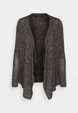 VMBRIANNA DRAPY - Cardigan - dark grey melange