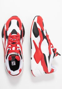 Puma - RS-X - Sneakers laag - white/high risk red - 1