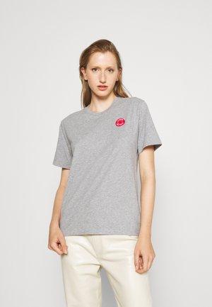 WOMEN'S - Basic T-shirt - grey heather melange