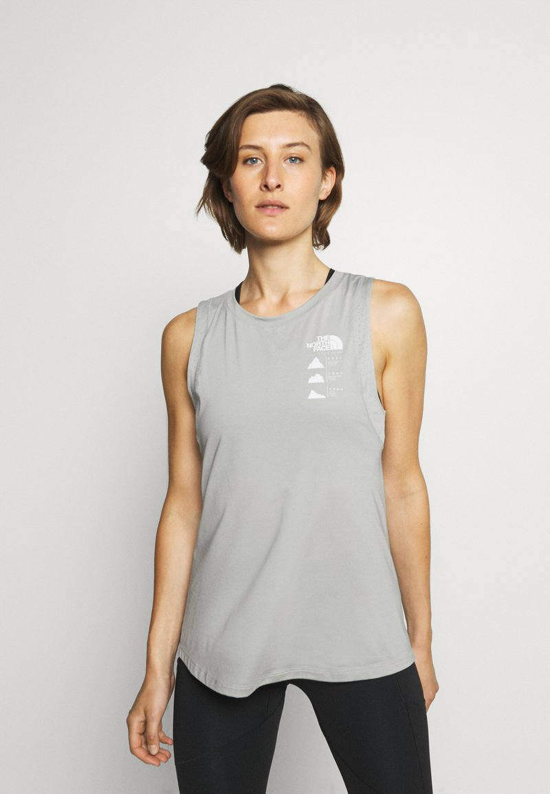 The North Face - GLACIER TANK  - Top - mottled grey