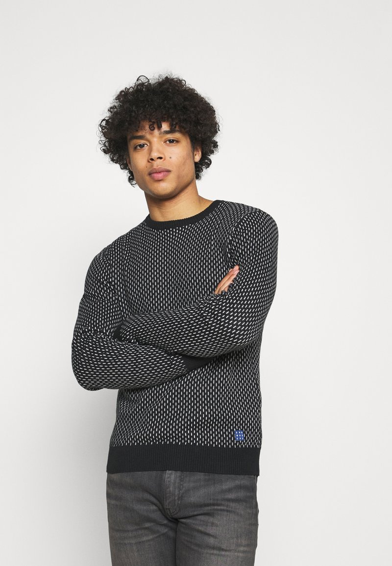 Blend - Stickad tröja - black