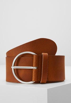 Waist belt - cognac