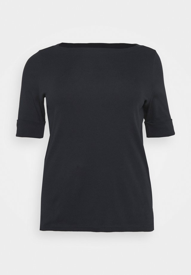 JUDY ELBOW SLEEVE - T-shirt basique - navy