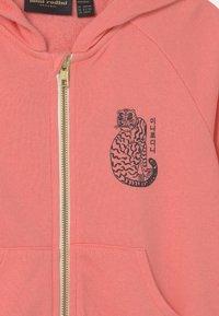 Mini Rodini - TIGER ZIP HOODIE UNISEX - Sweatjacke - pink - 2