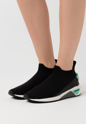 SKB S-KB SOCK QB WSNEAKERS - Slip-ons - black