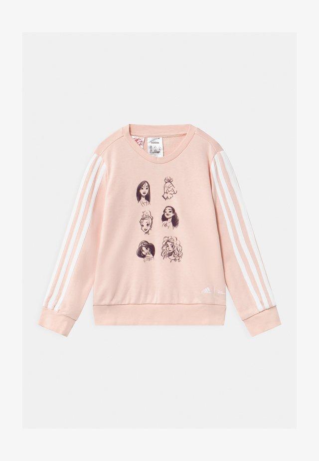 CREW UNISEX - Sweatshirt - pink/white