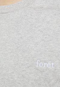 forét - WIND LONGSLEEVE - Long sleeved top - light grey melange - 5