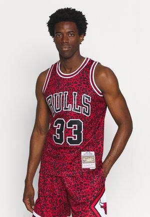 NBA CHICAGO BULLS SCOTTIE PIPPEN WILD LIFE SWINGMAN - Club wear - red
