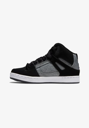 High-top trainers - black charcoal