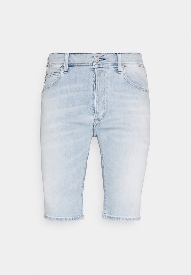 Denim shorts - superlight blue