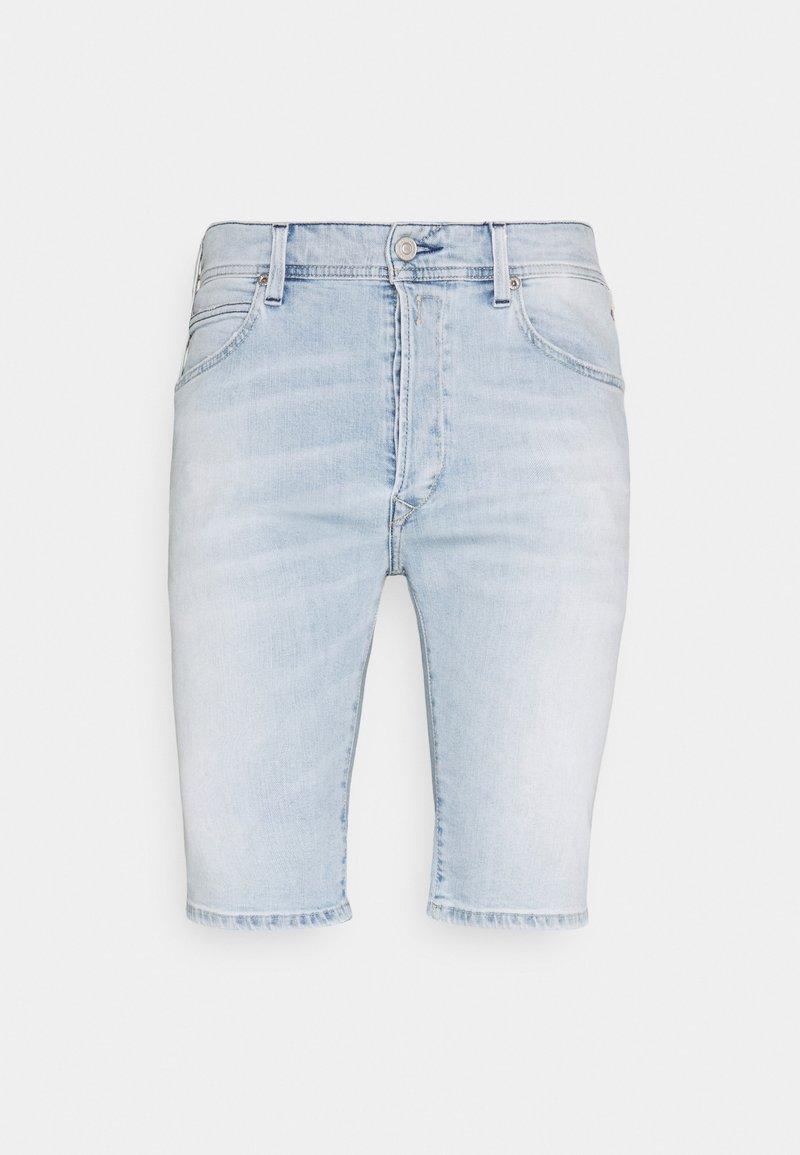 Replay - Denim shorts - superlight blue