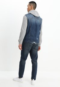 Brave Soul - Denim jacket - blue denim/grey - 2