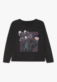Pepe Jeans - MALAY - Camiseta de manga larga - washed black - 0