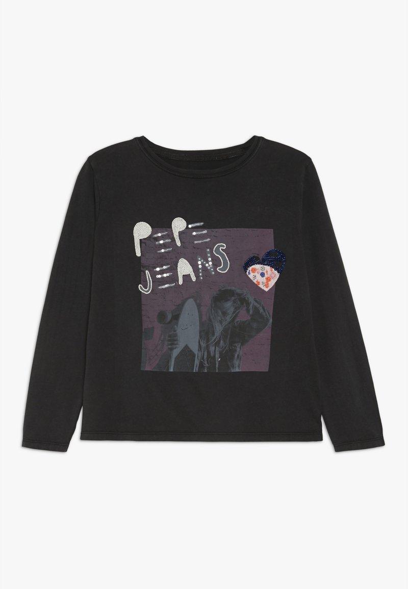 Pepe Jeans - MALAY - Camiseta de manga larga - washed black