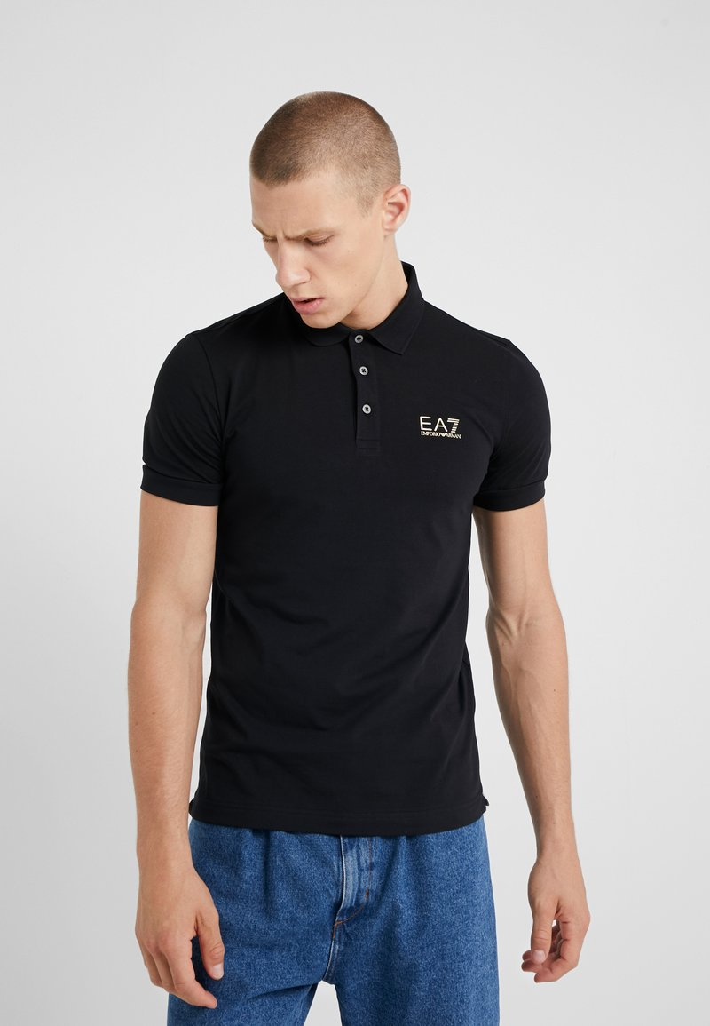 EA7 Emporio Armani - Polo shirt - black
