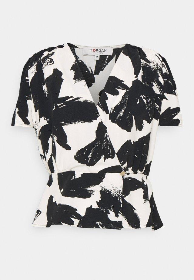 Camicetta - black/white
