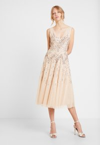 Lace & Beads - RUMI DRESS - Robe de soirée - nude - 2